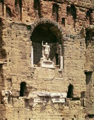 Statue of the Emperor Caesar Augustus