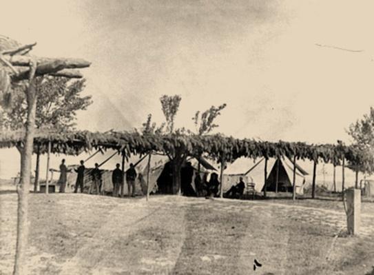 Tents Of The General Hospital At City Point, Va | Ken Burns: The Civil War