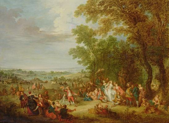 Fete Champetre, 1728