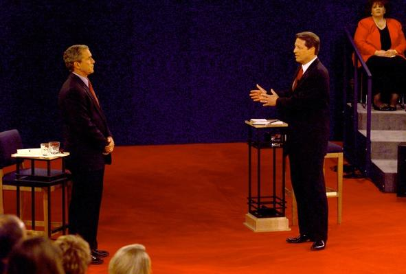 Bush and Gore in the Third Debate | U.S. Presidential Elections: 2000