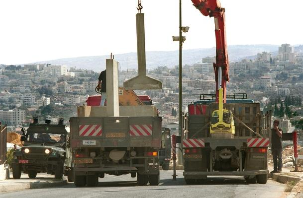 Concrete Barriers in Gilo | Palestine-Israel Conflict