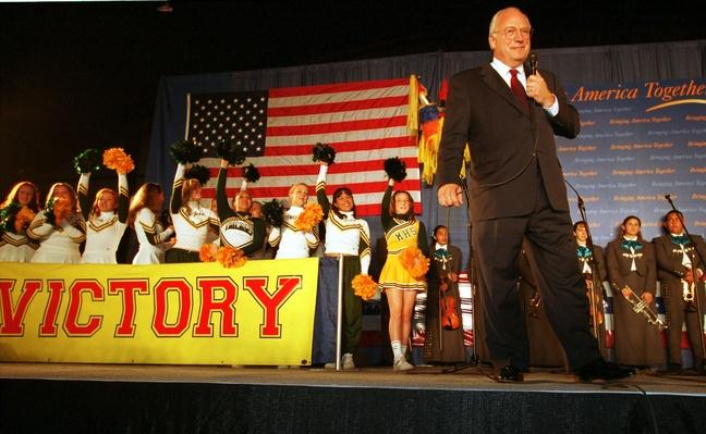 Republican Vice Presidential Candidate Dick Cheney Campaigns in Las Cruces, New Mexico | U.S. Presidential Elections: 2000