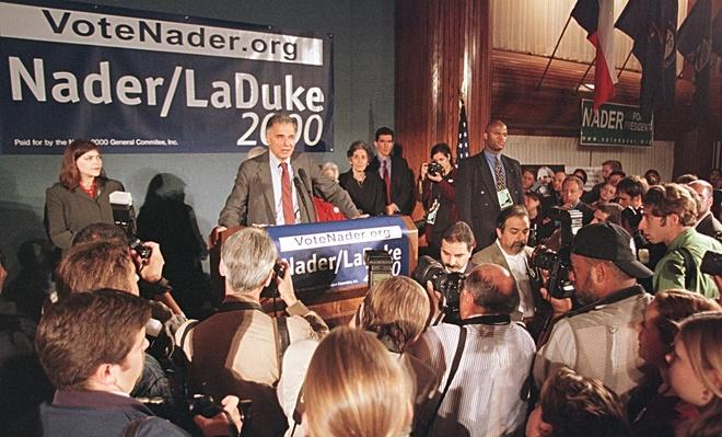 Ralph Nader Concedes the Election at the National Press Club | U.S. Presidential Elections: 2000