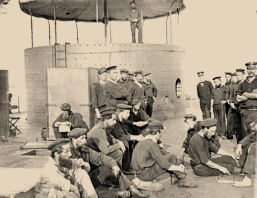 Sailors on the Deck of the USS Monitor | Ken Burns: The Civil War