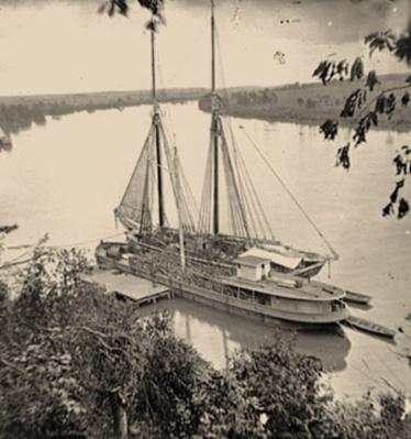 Federal Transports On The James River | Ken Burns: The Civil War