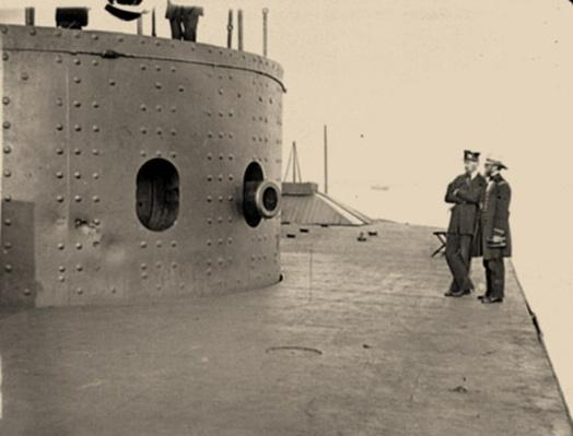 Deck And Turret Of The U.S.S. Monitor | Ken Burns: The Civil War