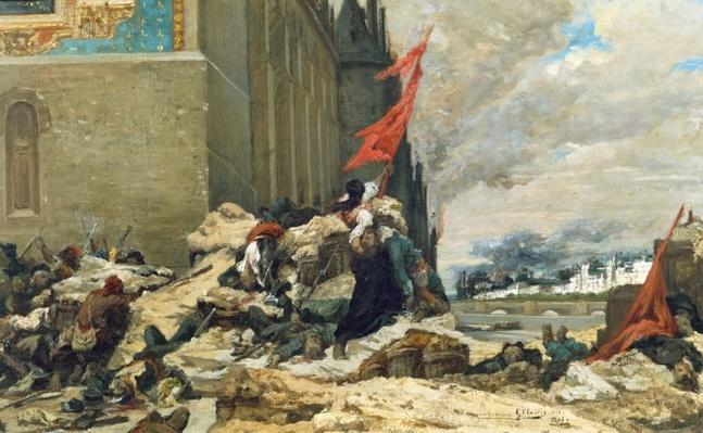 Burning of the Tuileries, 1871
