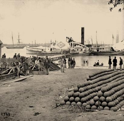 Embarkation for White House Landing | Ken Burns: The Civil War