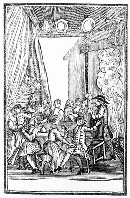 The Harvest Supper, from the Roxburghe Ballads