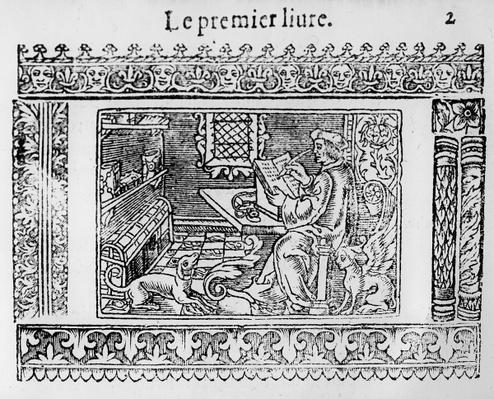 Frontispiece to the first book of Utopia by Thomas More