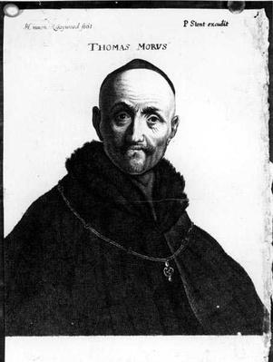 Portrait of Thomas More