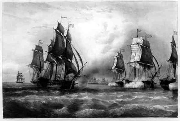 John Paul Jones's 'Ranger' Ship, 1793