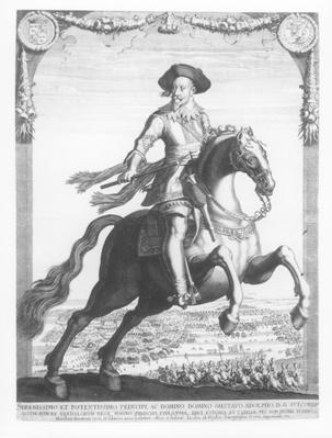 Gustavus Adolphus II, King of Sweden, on Horseback, 1632