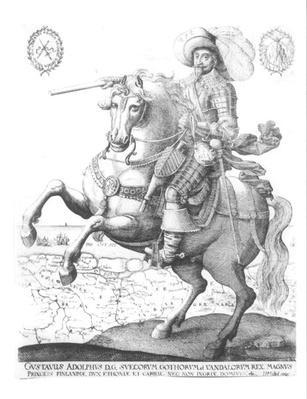 Portrait of Gustavus Adolphus II, King of Sweden