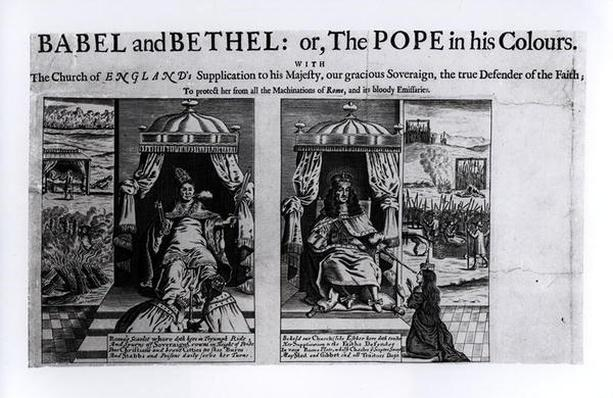 Babel and Bethel, or The Pope in his Colours