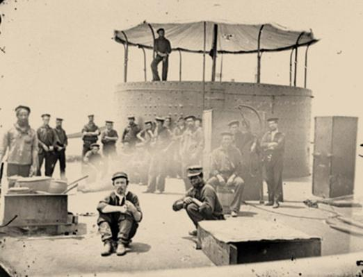 Sailors On Deck Of The U.S.S. Monitor | Ken Burns: The Civil War