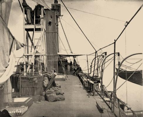 Deck of the Iron-Clad Gunboat, Galena | Ken Burns: The Civil War