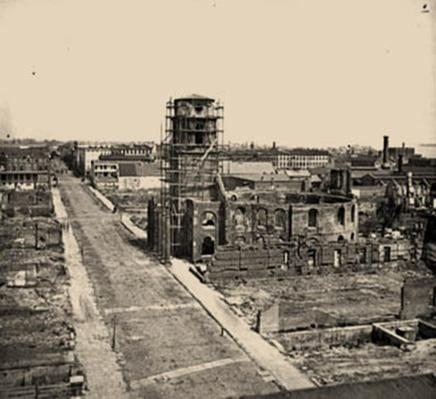 View From the Roof of the Mills House | Ken Burns: The Civil War
