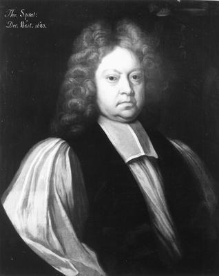 Portrait of Thomas Sprat
