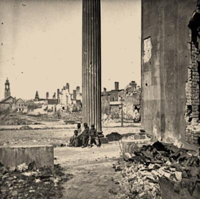 View of Ruined Buildings, Charleston, SC | Ken Burns: The Civil War