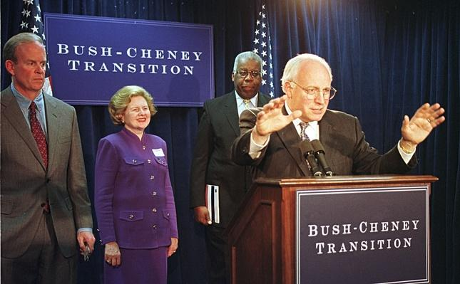 Vice-President Cheney Gets Keys to the General Services Administration | U.S. Presidential Elections: 2000
