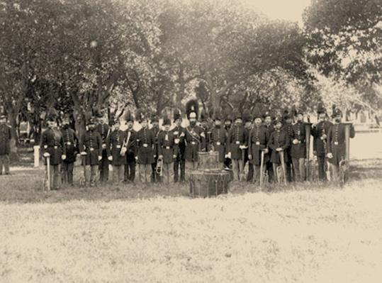 Post Band, Fort Monroe, VA | Ken Burns: The Civil War