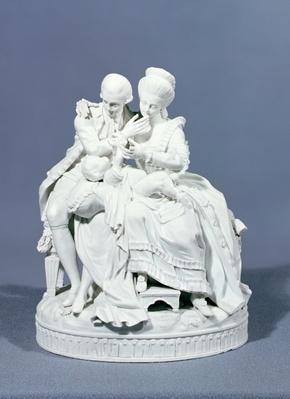 The Happy Parents, Meissen, c.1770