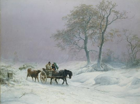The wintry road to market