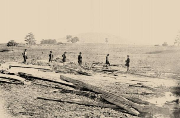 Union Graves on the Battlefield | Ken Burns: The Civil War