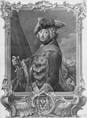 Portrait of Frederick II, The Great