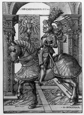 Equestrian portrait of Maximilian I