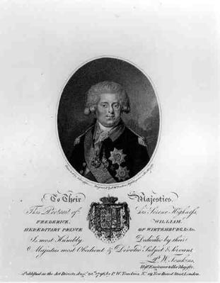 Portrait of Frederick William III