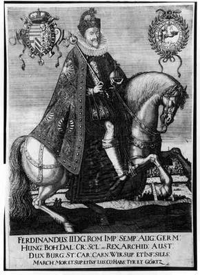 Equestrian Portrait of Ferdinand II