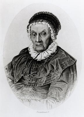 Portrait of Caroline Herschel