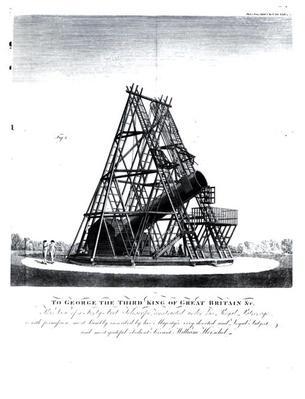 William Herschel's Forty Foot Telescope