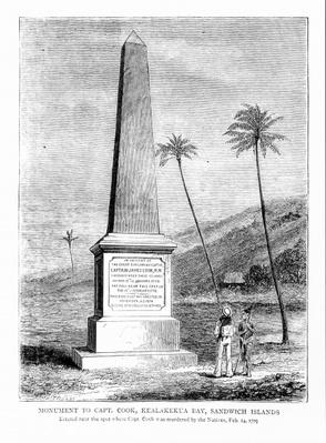 Monument to Captain James Cook