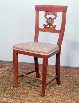 Chair, Biedermeier style, c.1820