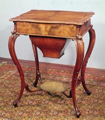 Rococo style worktable, 1840
