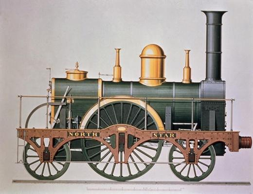 Stephenson's 'North Star' Steam Engine, 1837