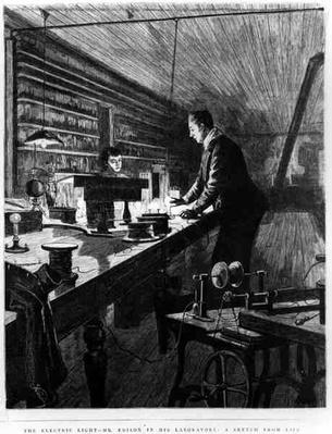 The Electric Light, Mr Edison