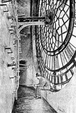 Behind the Clock-Dial of Big Ben