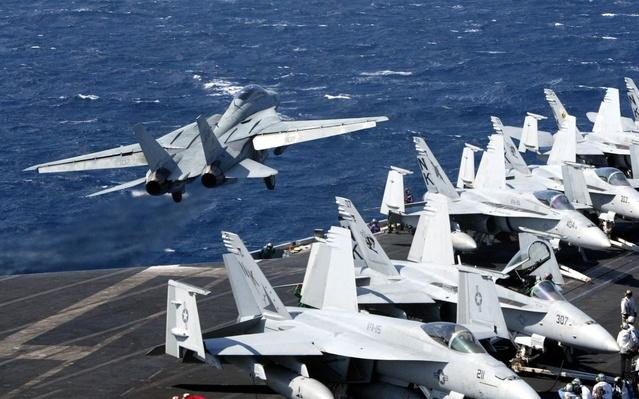 U.S. Aircraft Carrier Abraham Lincoln En Route To Mideast | The Evolution of Military Aviation