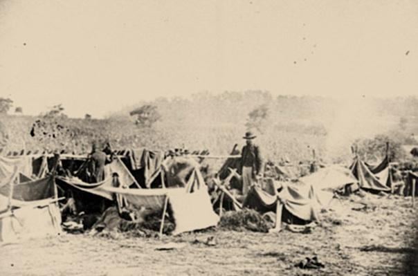Confederate Wounded After The Battle Of Antietam | Ken Burns: The Civil War