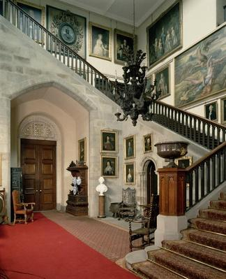View of the Staircase Hall, 1812-15