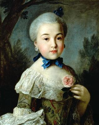 Portrait of Princess Charlotte Sophia