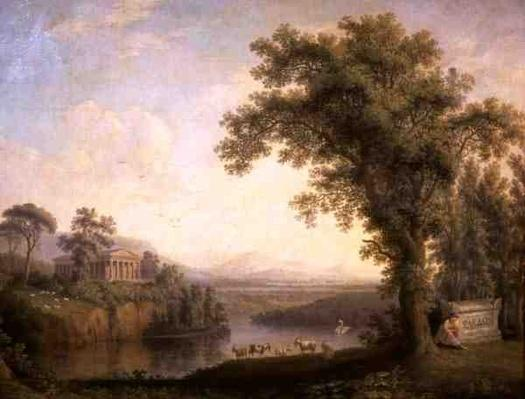 Antique Landscape with Phaeton's Tomb, 1785