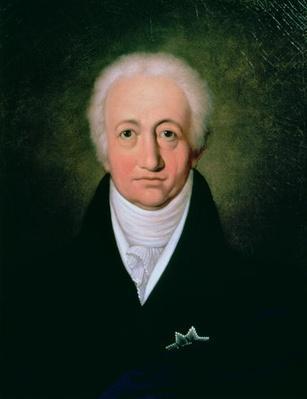 Portrait of Johann Wolfgang von Goethe
