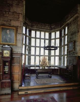 Hoghton Tower, Lancashire: Banqueting Room, 16th century