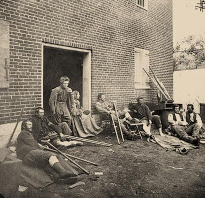 Wounded Soldiers | Ken Burns: The Civil War