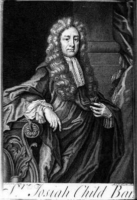 Portrait of Sir Joseph Child